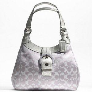 Coach Metallic Hobo Shoulder Bag F18911
